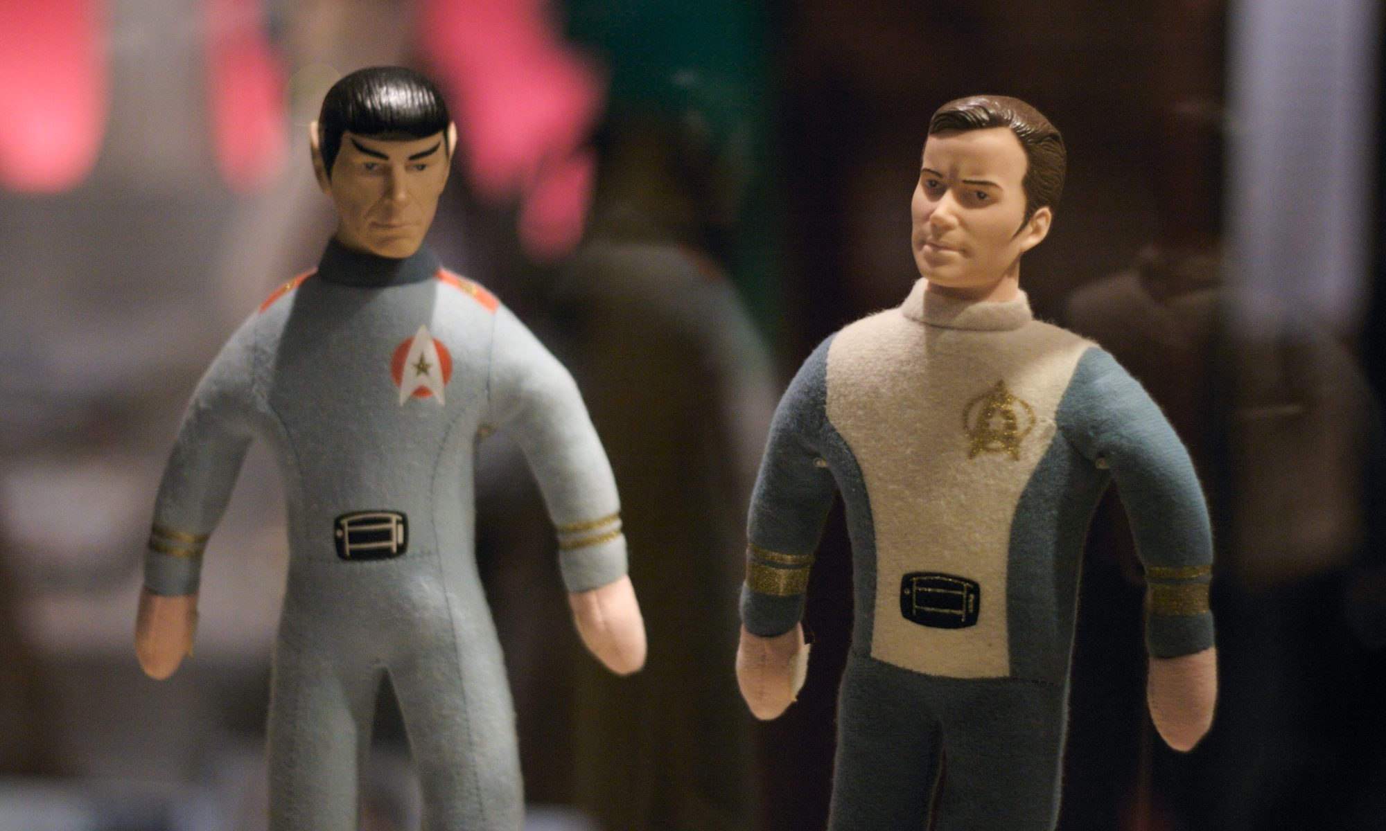 Mr. Spock and Captain Kirk by Marcin Wichary