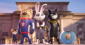 Animated Adventurers StarDog, Cassidy and TurboCat and the gang.