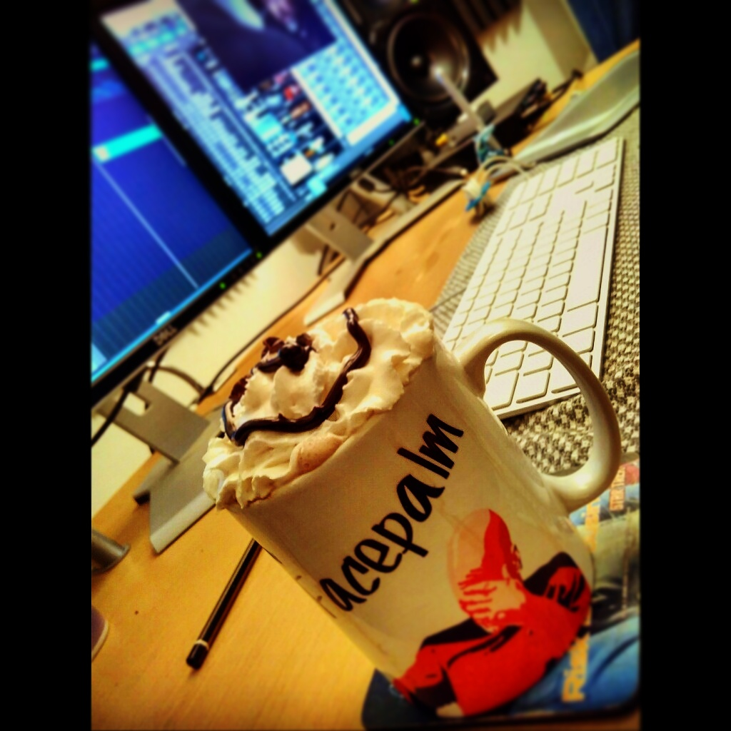 Composing Music for Theatre with A Hot Chocolate In The Music Studio